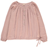 Numero 74 Naia Long Sleeve Blouse - Teen and Women's Collection Dusty Pink