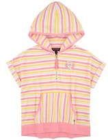 Juicy Couture Girls Fashion Track Wanderlust Stripe Terry Hoodie