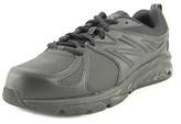 New Balance Wxb57 Women 2e Steel Toe Leather Black Work Shoe.