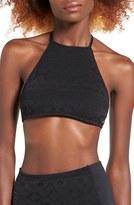 Roxy Women's Cozy & Soft Halter Bikini Top