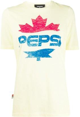 DSQUARED2 #D2XPepsi logo print T-shirt