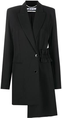 Off-White Asymmetric Hem Coat