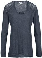 Tribal Navy Faded Top