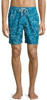 Michael Kors Palm Leaf Swim Trunks