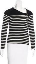 Saint Laurent Wool-Blend Striped Sweater