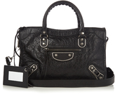 Balenciaga Classic Metallic Edge City small leather bag