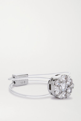 PERSÉE Imagine 18-karat White Gold Diamond Ring - 50