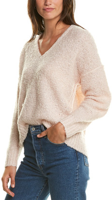 Michael Stars Stacy Wool-Blend Pullover