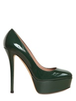 140mm Patent Leather Pumps