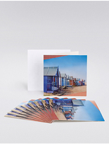 Marks and Spencer Beach Huts Multipack Cards