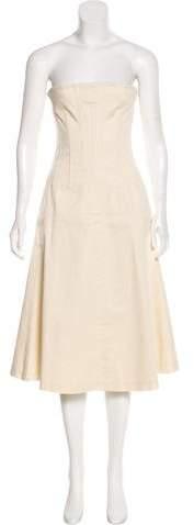 Dolce & Gabbana Sleeveless Bustier Dress