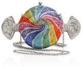 Judith Leiber Rainbow Crystal Candy Minaudiere