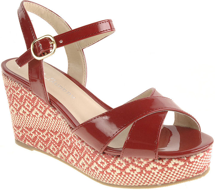 CL by Laundry Shoes, Duet Wedge Sandals