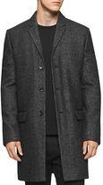 Calvin Klein Wool Heathered Coat