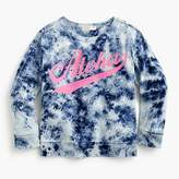 "J.Crew Girls' tie-dyed ""Aloha"" sweatshirt"