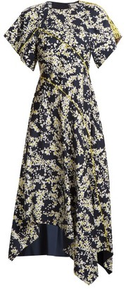 Sportmax Eris Dress - Womens - Navy Print