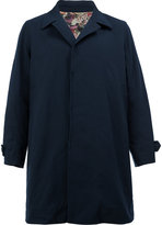 Undercover concealed placket coat