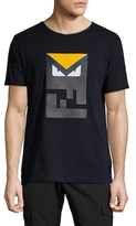 Fendi Bag Bugs Crewneck T-Shirt