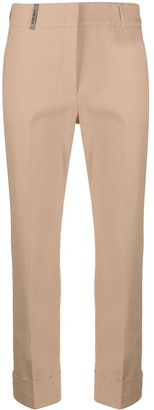 Peserico Cropped Straight Leg Trousers