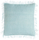 """Pine Cone Hill Laundered Linen Pillow with Fringe, 20""""Sq."""