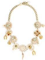 Dolce & Gabbana Crochet Collar Necklace