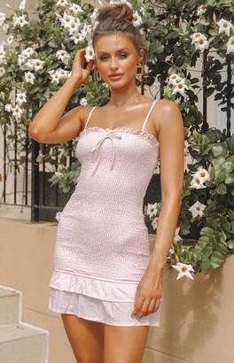 Beginning Boutique Beatrice Dress Pink Print