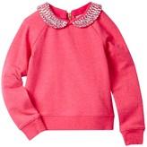 Kate Spade Embellished Sweatshirt (Toddler & Little Girls)