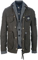 DSquared Dsquared2 layered jacket