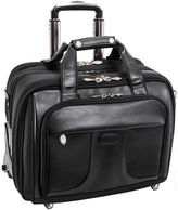 McKlein McKleinUSA Chicago 15.6 Nylon Detachable -Wheeled Laptop Overnight with Removable Briefcase