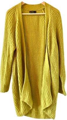 SET Yellow Wool Jacket for Women