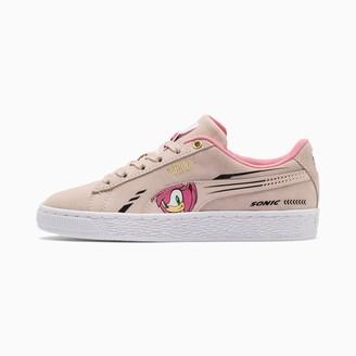 Puma x SONIC Suede Sneakers JR