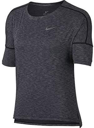 Nike Women's W NK Dry Medalist TOP SS HTR T-Shirt,(M)