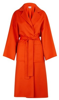 Loewe Oversize coat with belt