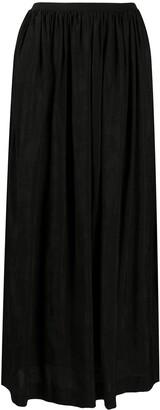 UMA WANG Pleated Midi Skirt