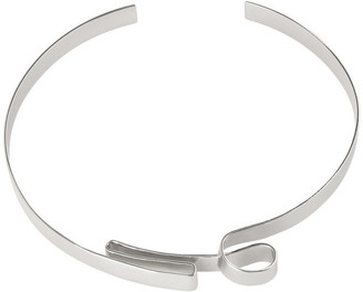 Wayne Cooper WCGEW17NL1 Sculptural Metal Ribbon Collar Necklace