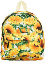 Molo sunflower-print backpack