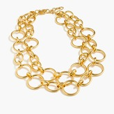 J.Crew Gold link necklace