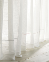 Serena & Lily Color Stitch Sheer Window Panel