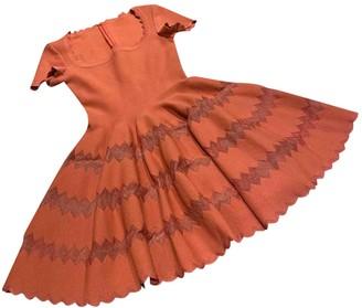 Alaia Red Silk Dresses