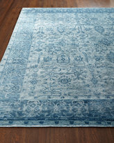 Horchow Exquisite Rugs Sweet Blues Rug, 8' x 10'