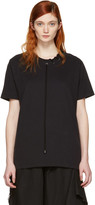 Craig Green Black Lace-up Collar T-shirt