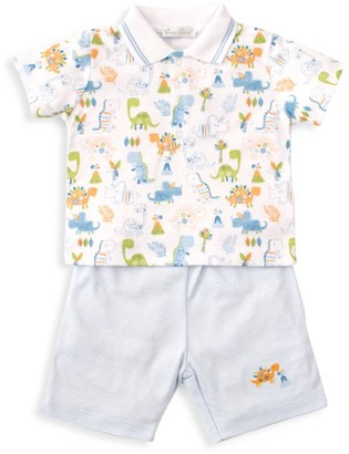 Kissy Kissy Baby Boy's Dinosaur 2-Piece Tee & Short Set