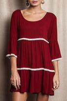 Umgee USA Fabulous In Fringe Dress