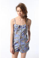 Pins and Needles Structured Foldover Romper