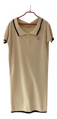 Hermes White Silk Dresses