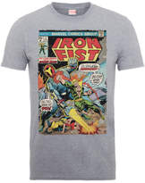 Marvel Comics Iron Fist Atomic Man Men's Grey T-Shirt