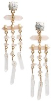 BaubleBar Women's Ava Stone Drop Earrings