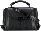 Salvatore Ferragamo small textured tote - women - Calf Leather/Polyamide - One Size
