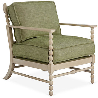 Mr & Mrs Howard Spool Accent Chair - Spring Green