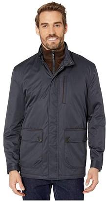 Johnston & Murphy Twill Jacket w/ Bib (Hvay) Men's Clothing